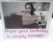Simply Divine birthday card