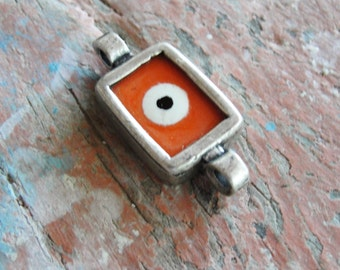 Orange Evil Eye Connector