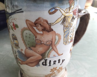 "Pin Up Mug ""dirty"""