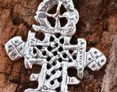 Ethiopian Cross in Sterling Silver, 295s
