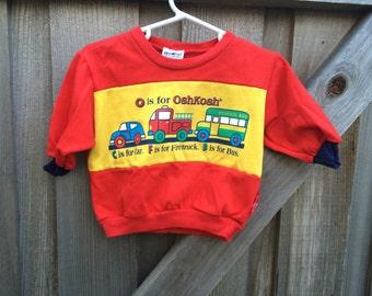 Osh Kosh Shirt 9-12 Months