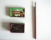 French Vintage Dip Pen Nibs (10) - Like New Condition - Blanzy 2552