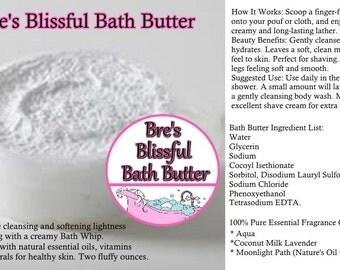 Bre's Blissful Bath Butter 2oz