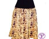 Doctor Who Skirt, Star Trek skirt,Firefly skirt,Plus Size Sci Fi Skirt, Battlestar skirt,TARDIS Skirt,Mini skirt, Cosplay,Comic con,