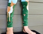Leg and Arm Warmers for Boys and Girls - Sweet Deer Leggings for Kid, Infant, Baby, Toddler, and Tween - Great Baby Shower or Birthday Gift