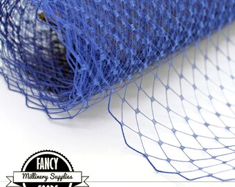 Blue Veiling - Netting - French - Russian - 1 Yard