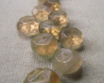 Gemstone Rondelle Parcel Fluorite 9mm Item No. 8370
