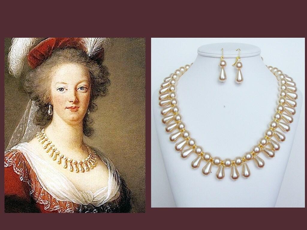 Marie Antoinette Replica Necklace Renaissance Necklace