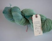 Hand dyed sock yarn - Peridot