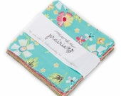 """SALE 5"""" charm pack PRAIRIE by corey yoder of little miss shabby Moda Fabric"""