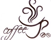 Vinyl Decal for COFFEE LOVERS