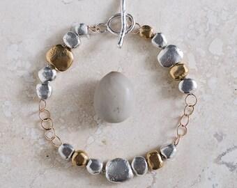 Rocks and Rings Bracelet