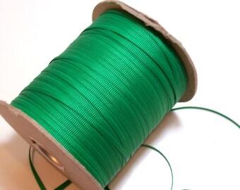 Green Ribbon, Offray Emerald Green Grosgrain Ribbon 1/8 inch wide x 10 yards