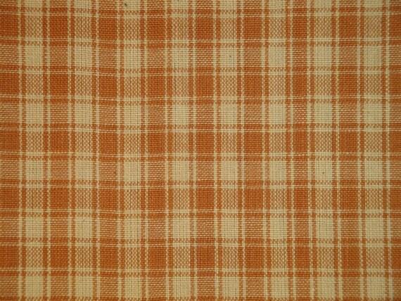 Cotton Homespun Fabric Plaid Fabric Quilt Fabric Home