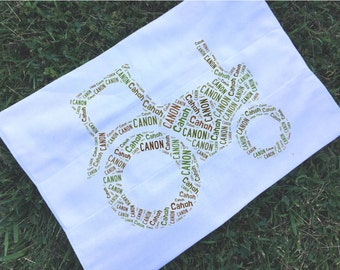 Personalized Tractor Farm Burp Cloth Monogrammed Baby Shower Gift