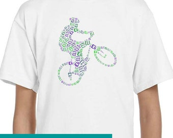 Personalized Mountain Bike T Shirt,  T-Shirt, Tee