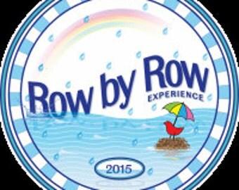 Row by Row H2O 2015 Round Lapel Pin