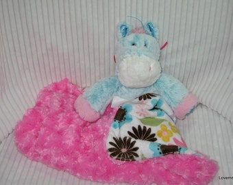 Security Blanket, baby blanket, luvi, lovie - pony lovems