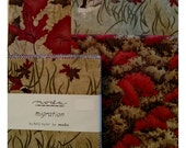 Table Topper Kit - Migration #3 - Backing Included - autumn - fall - table quilt - table runner - pheasant