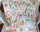 Michigan Pillow Cover