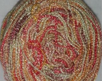 Fine Bamboo Autumn colored yarn