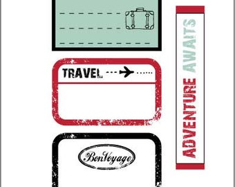 Luggage Tag Label