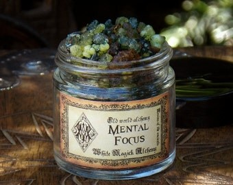 MENTAL FOCUS Resins of the Ancients . Old World Alchemy