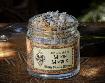 MOON MAGICK Resins of the Ancients . Old World Alchemy