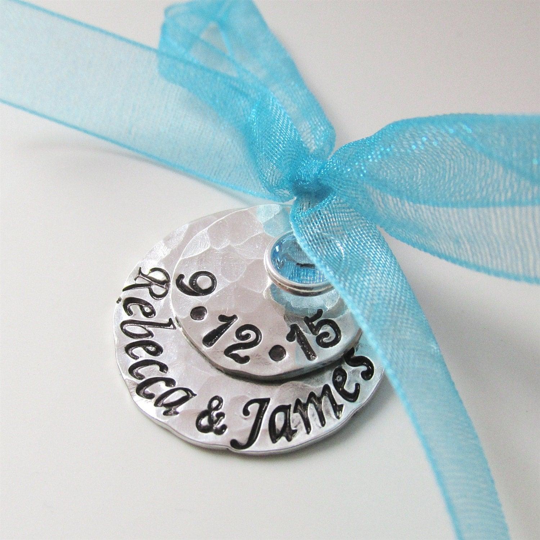 Something Blue Wedding: Something Blue Bridal Charm Custom Wedding Charm Hand