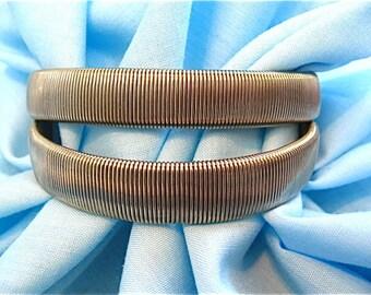 Vintage Silver Stretch Bracelets