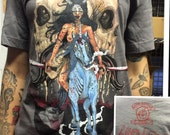 Kill Hatsumomo/ Dark Matter Coffee blood lord t shirt size MEDIUM