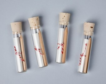 Message in a Bottle Kit DIY - DIY Valentine, Love Letter Kit, Valentine's Day Gift