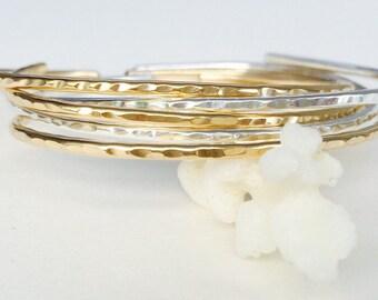 Minimalist Sterling Silver Cuff Bracelet