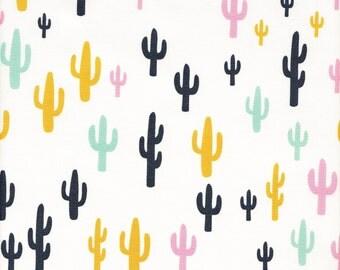 Art Gallery Fabrics Morning Walk Cacti Field Fun - Half Yard