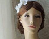 Bridal Headband ,Wedding Hair Accessory, Floral Lace headpiece Swarovski Pearls and Rhinestones