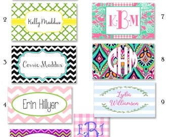 Back Pack Tags - Luggage Tags - backpack tags - Girl Tags - Bag Tags - Personalized Tags for Back to School - Diaper Bag Tags