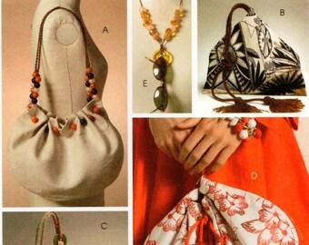 McCall's UNCUT Fashion Accessories Pattern M5340 - Handbags