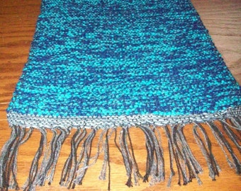 Handwoven Runner, (Blue Ridge Runner/21) -116b