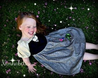 Sleeping Beauty - Briar Rose Play Dress 3t - 8 girls - Product ID # SBBRPD100