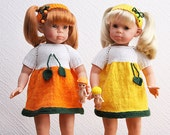 Citrus Outfits for American Girl, Schildkroet, Other 18'' dolls