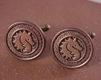 SALE Vintage Clothing Button Cuff Links - Free Shipping to USA