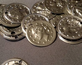 Vintage coin charms