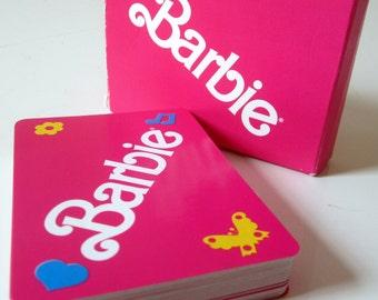 BARBIE Doll Fashion Swap PLAYING CARDS Original Case DDB7