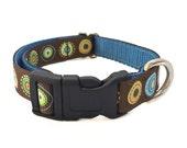 "Rodeo Small Dog Collar / 1/2"" Polka Dot Tiny Dog Collar Harness or Leash"
