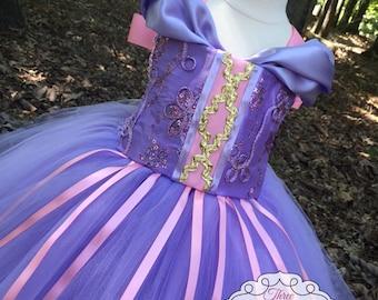 Rapunzel Tutu Dress - Rapunzel Costume - Rapunzel Dress