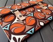 New MacBook Case / 12 Macbook Case / 11 MacBook Air Case / 13 MacBook Pro  Case / Cover / 15 Macbook Air Cover - Spade Orange