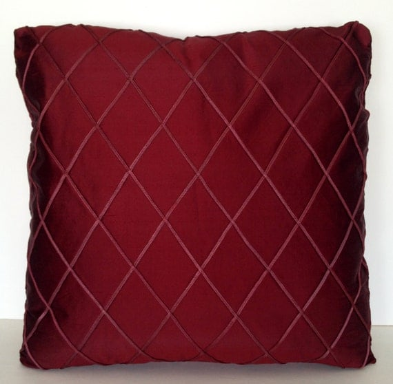 Throw Pillow Covers 20 X 20 : 20 x 20 Square Throw Pillow Cover Silk Harlequin