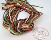 Woodland Realm 2mm Silk Cord Craft Supplies Jewelry Supplies Bracelet Supplies 40 to 42 Inches Long