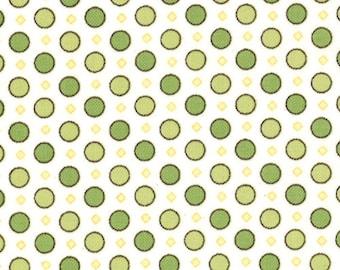 Windsor Lane Dots Sprig 2845-13 Half Yard