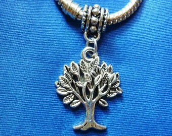 Tree of Life silver Dangle Charm,Tree of Life Pendant charm